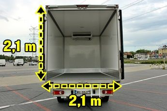 Ogromny Wynajem samochodów chłodni, samochody ciężarowe i dostawcze OP07